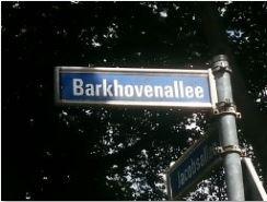 Barkhovenallee-schild