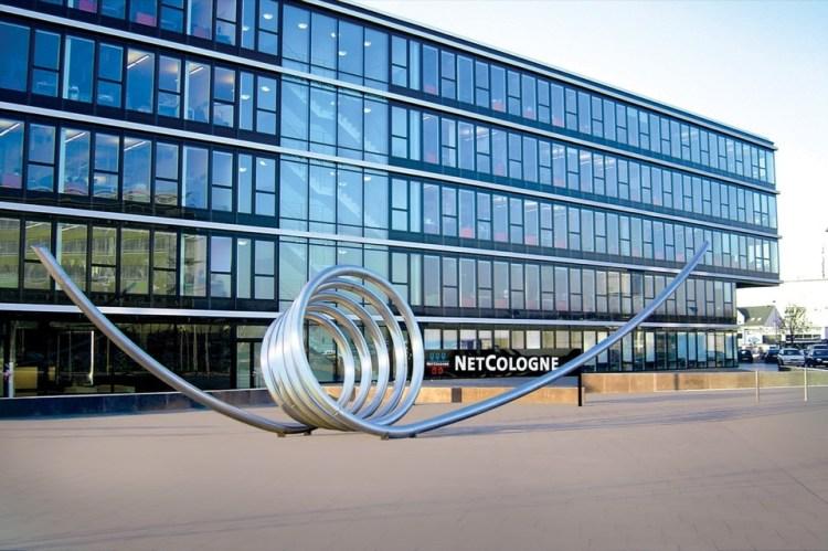 Die NetCologne-Zentrale in Köln-Ossendorf