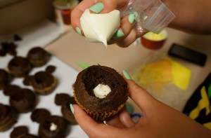 candy-corn-cupcake 6