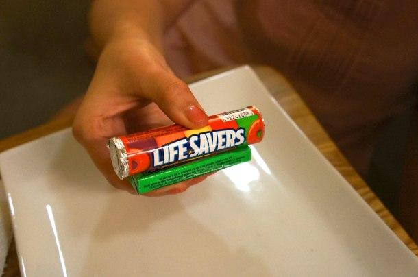life saver train