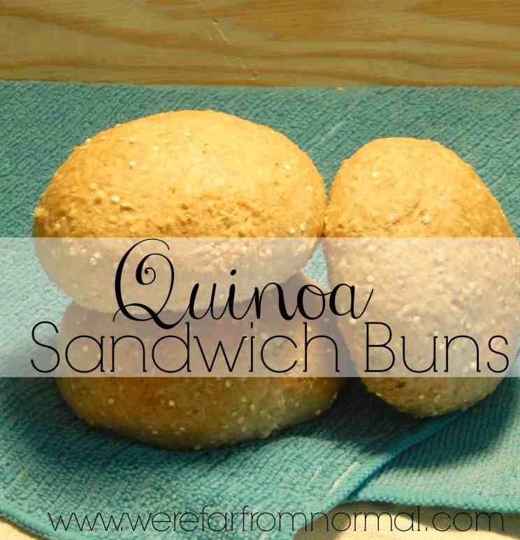Quinoa Sandwich Buns Rolls