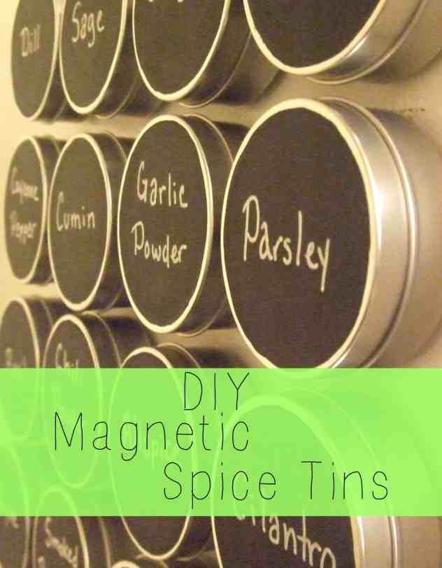DIY Spice tins
