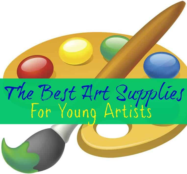 the best art supplies for young artists far from normal