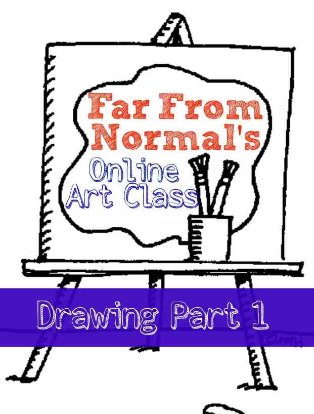 online art class drawing 1