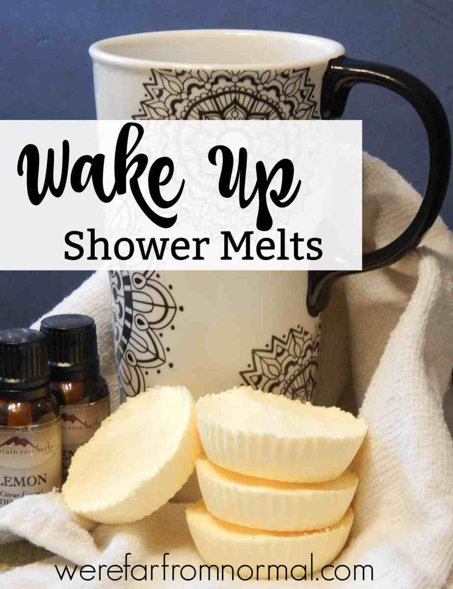Wake Up Shower Melts