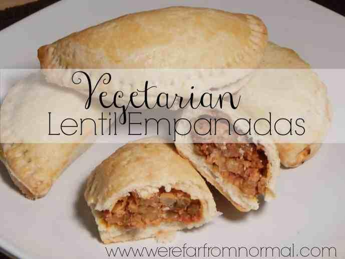 vegetarian lentil empenadas