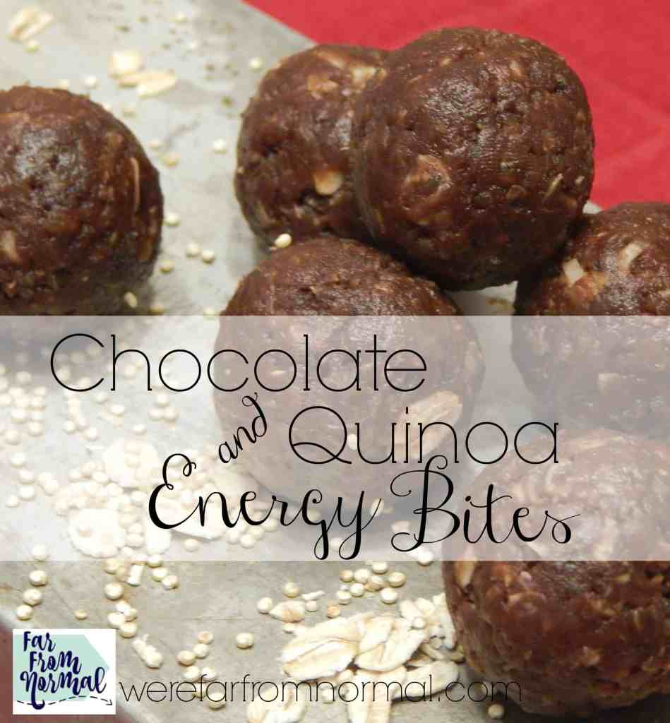 Chocolate Quinoa Energy Bites