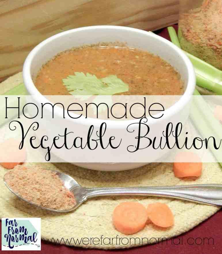 Homemade Vegetable Bullion Powder