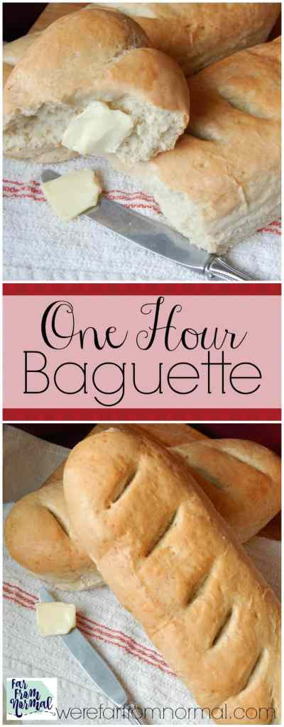 Can you believe this bread is ready in an hour! It is so delicious and so easy to make! Have fresh bread with dinner tonight!