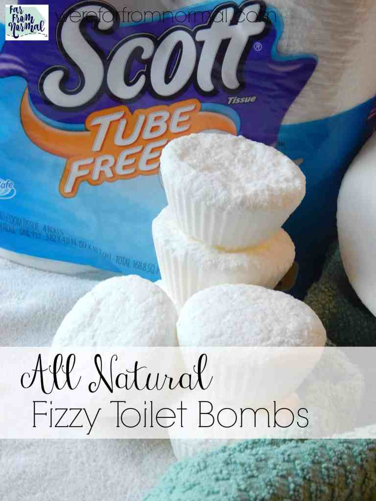 Easy All Natural Fizzy Toilet Cleaning Bombs Far From Normal