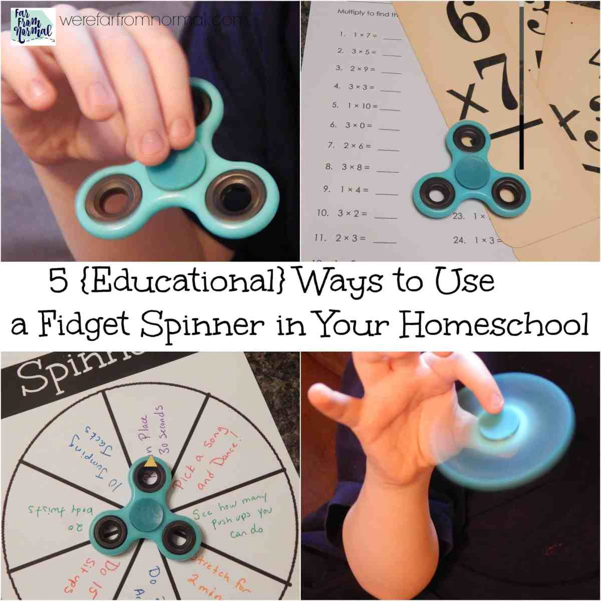 5 {Educational} Ways to Use a Fidget Spinner in Your Homeschool