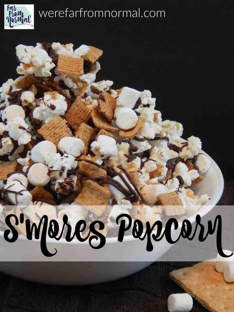 Easy & Delicious S'Mores Popcorn