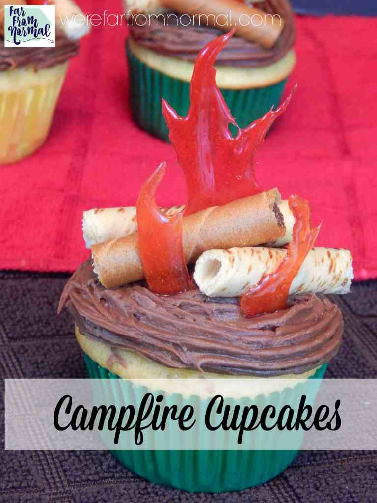 How to Make Campfire Cupcakes