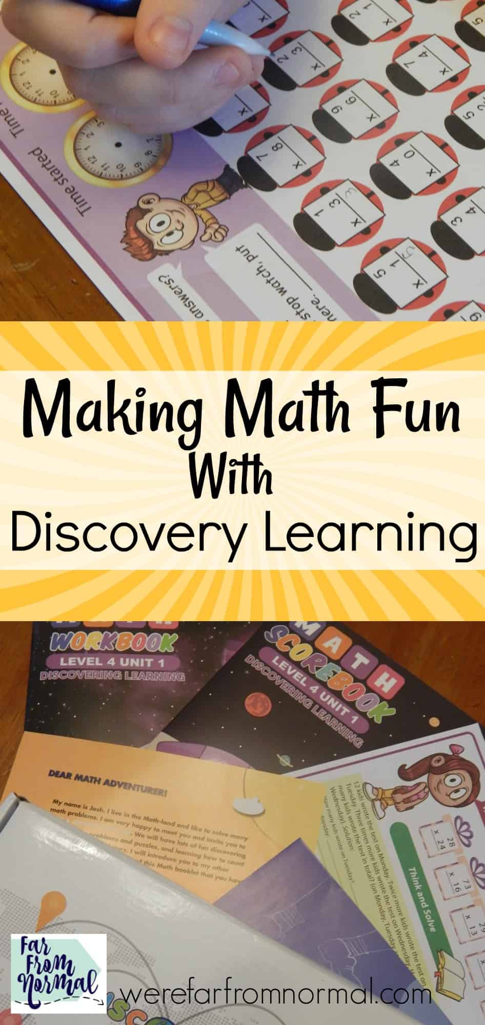 Making Math Fun With Discovery Learning | Far From Normal