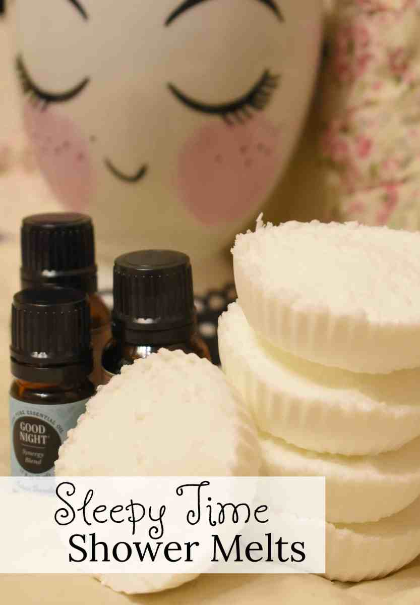 Easy to Make Sleepy Time Relaxing Shower Melts