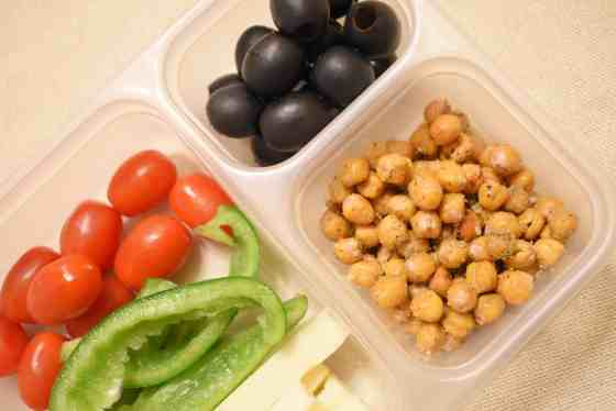 vegetarian protein box