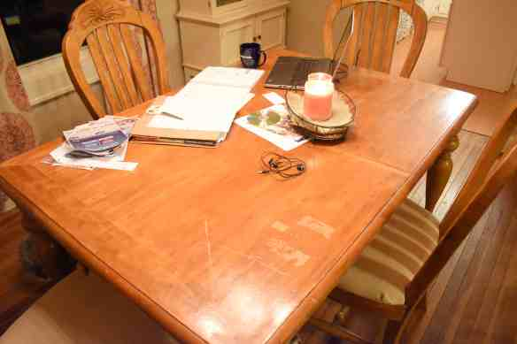 My Chalk Paint Dining Room Table Makeover Far From Normal