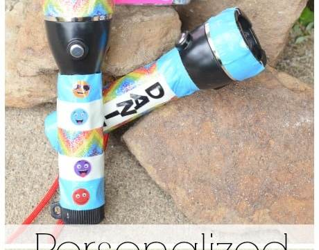 Personalized Kid's Flashlights