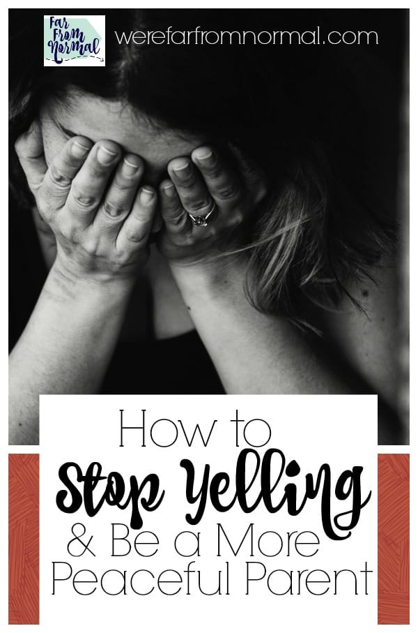 How to stop yelling in a relationship