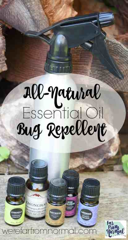 essential oil bug repellent
