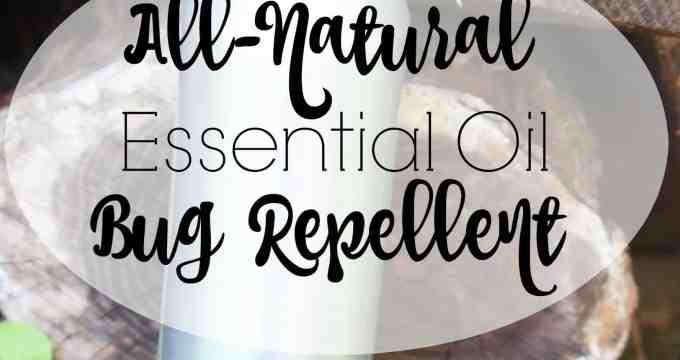 DIY Essential Oil Bug Repellent