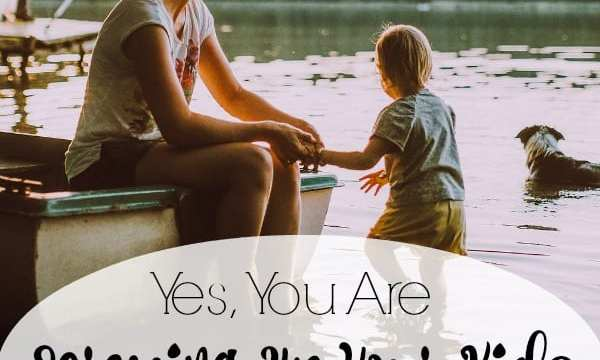 Yes, You Are Screwing Up Your Kids (but it's going to be ok!)