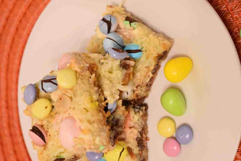 Easter Candy magic bars