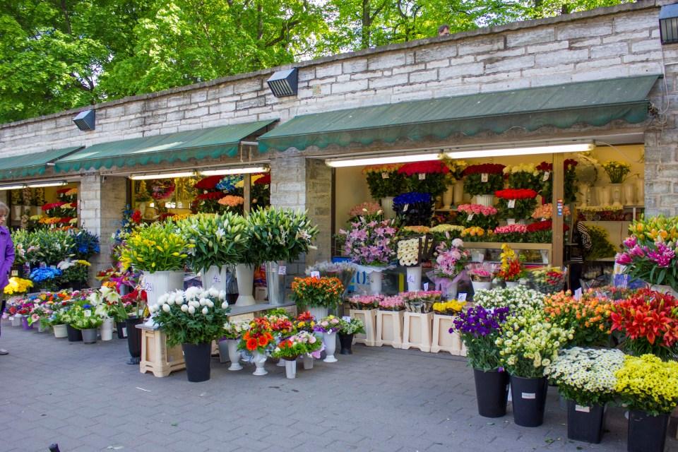bloemenmarkt Tallinn