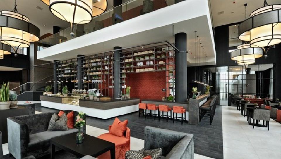 Koffie bar Van der Valk Hotel Tiel