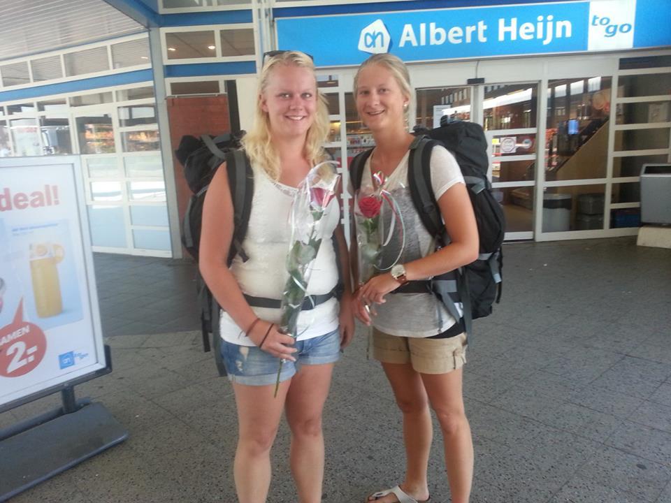Interrailen met backpack