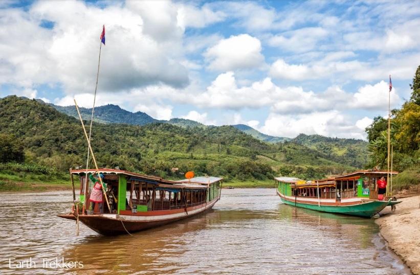 Mekong River in Laos | Foto: Earthtrekkers