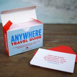 Kerstcadeaus: Anywhere Travel Guide