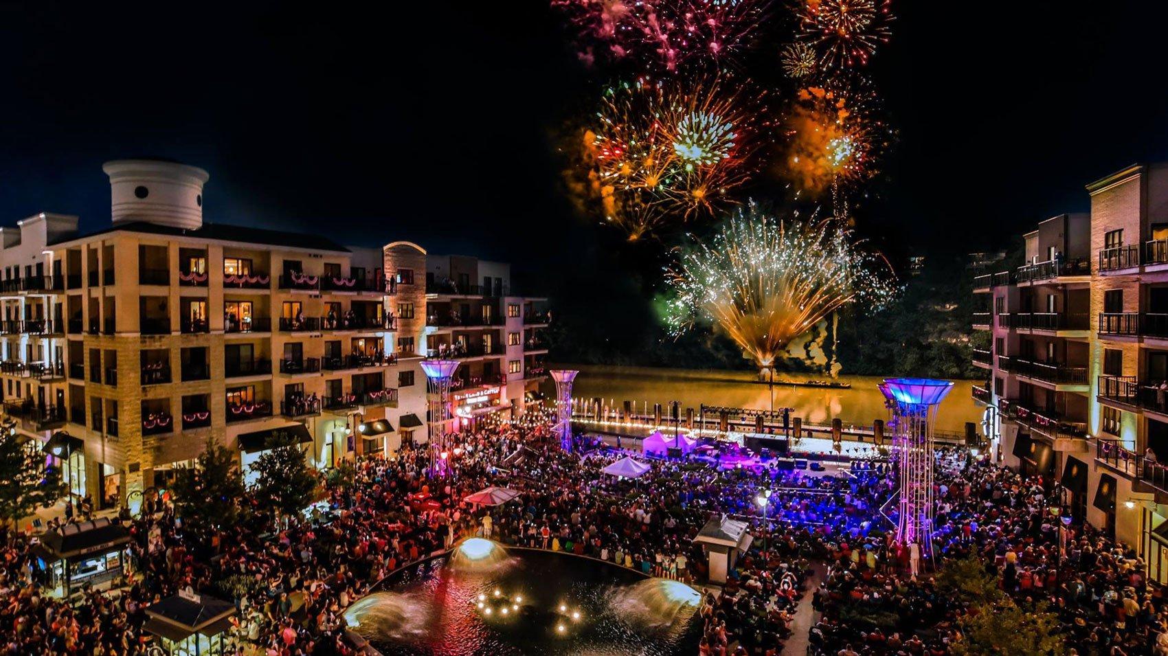 Branson Landing 4th of July Fireworks