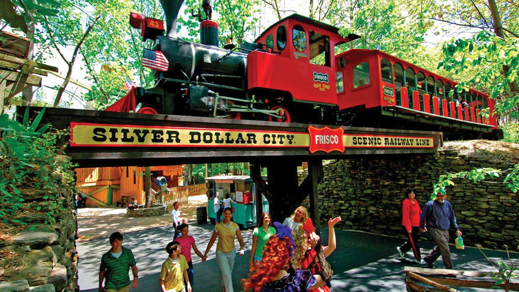 Silver Dollar City Train