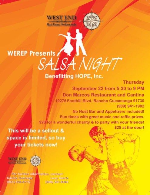 WEREP Presents Salsa Night