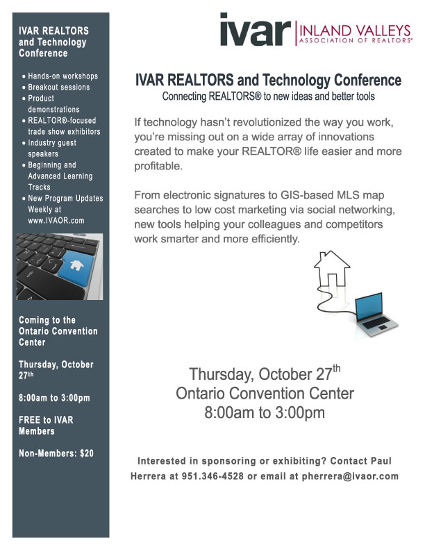 IVAR REALTORS and Technology Conference