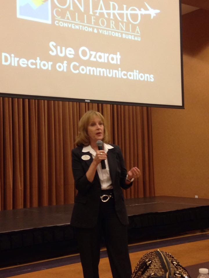 Information from  Sue Oxarart – Greater Ontario Convention & Visitors Bureau