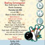 Bowling Extravaganza!   July 28, 2016