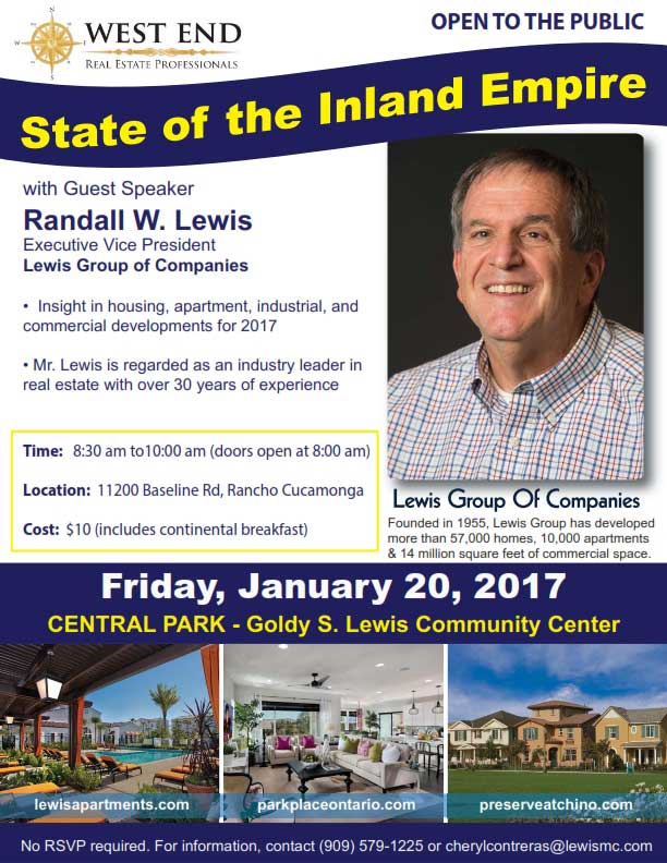 Randall Lewis – Lewis Operating Corp.   2017 Annual Industry Update 1/20/17