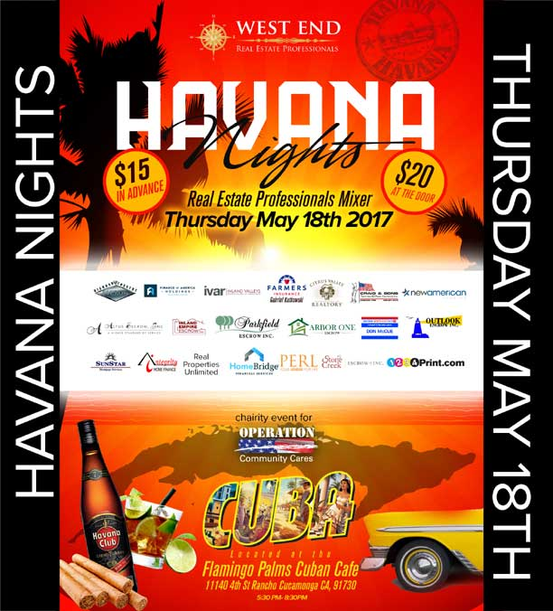 Havana Nights Mixer | May 18, 2017