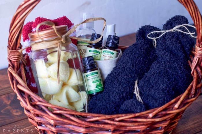DIY Essential Oil Hostess Gift Basket Were Parents