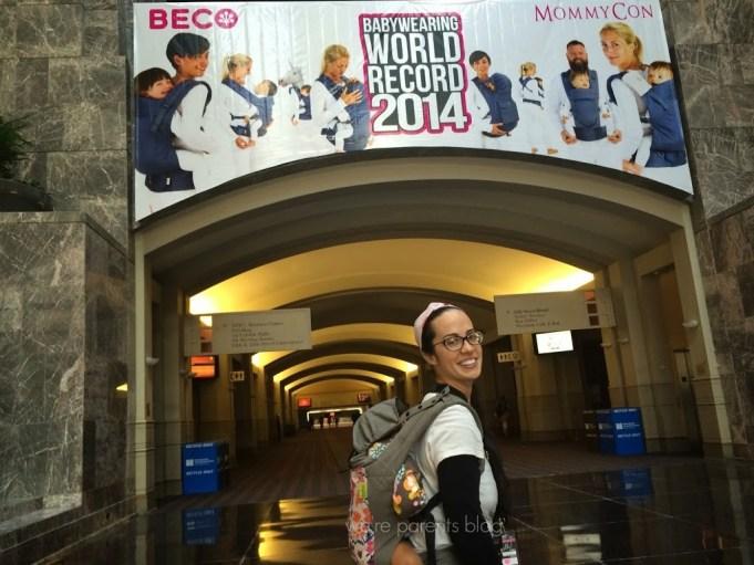 mommycon babywearing world record