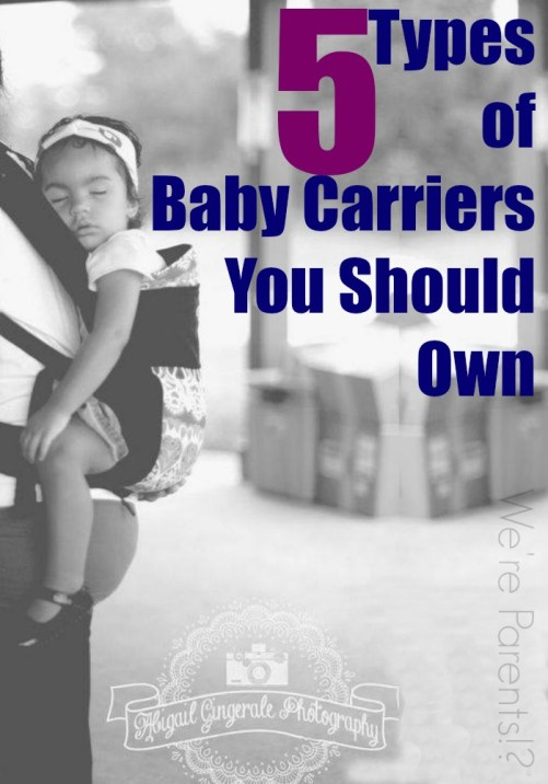 a36ebb465c5 5 Types of Baby Carriers You Should Own - Momma Lew