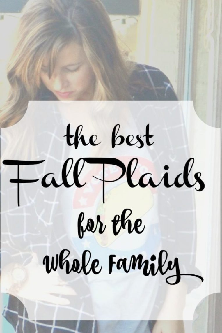 The Best Fall Plaids for the Whole Family