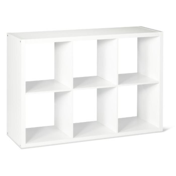 6 Cube Organizer Shelf