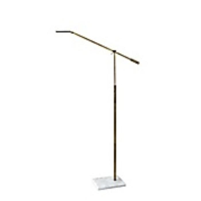 LED Swing Arm Floor Lamp2