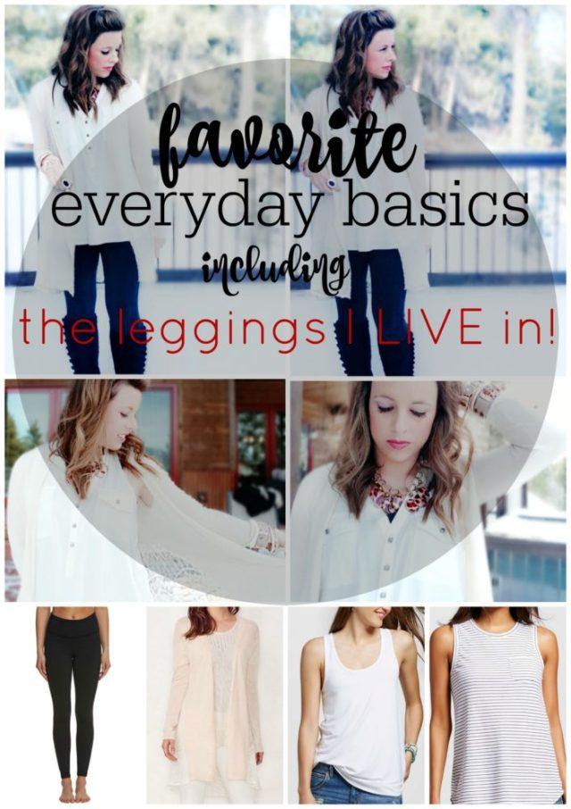 Favorite Everyday Basics Best Leggings