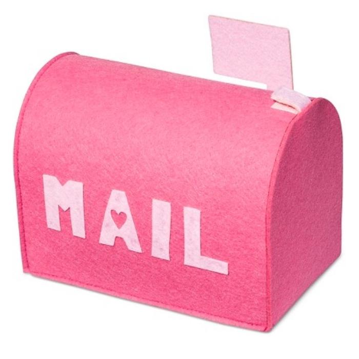 Valentine's Day Pink Felt Mailbox – Spritz_ _ Target