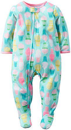 Carters Ice Cream Footie Pajama