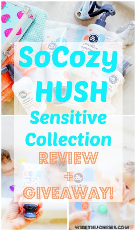 SoCozy Hush Collection Review and Giveaway